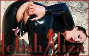 Fetish World that consists of tight shiny outfits, latex, rubber, high boots and heels, of femdom and lots more