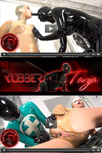 Rubber Tanja - Rubber Fetish Videos and Images