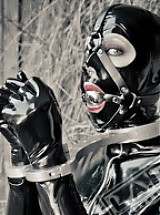 Latex and Steel Bondage
