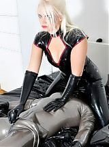Rubber Reward with Divine Mistress Heather