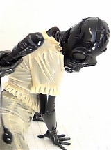 RUBBER LAYERS, GAS MASK DRESSING, INFLATABLE DILDO PT 2