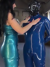 Lady Luciana - my rubber slave
