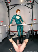 Suspended For Her Pleasure