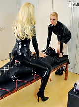 Rubber Toy with Lady Lola, Mistress Eleise de Lacy